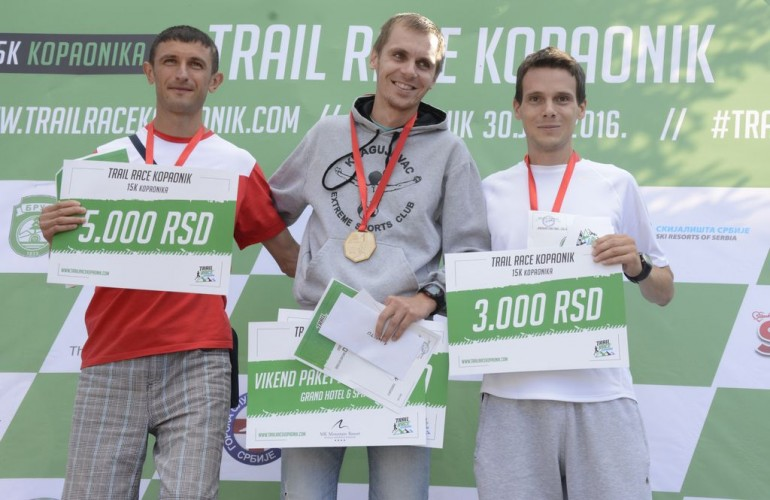 Na sve strane, trail race